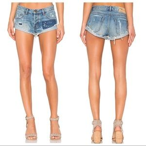 One Teaspoon Bandits in Johnny Blue shorts